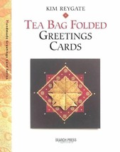TEA BAG FOLDING BY KIM REYGATE TEA BAG FOLDING  crafts quilling hobby - $11.88