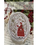 Jingle All The Way holiday winter christmas cross stitch chart With Thy ... - $12.00