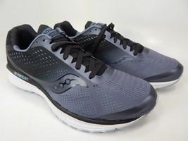 Saucony Breakthru 4 Size 9 M (D) EU 42.5 Men's Running Shoes Grey/Black S20419-1