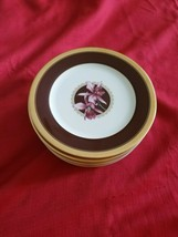 Vintage Mikasa Accent Luncheon Plates Orchid Royal lot x 6 or lot x 9 - $128.70+