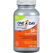 One A Day Women's 50+ Multivitamins, Supplement with Vitamin A, Vitamin C, Vitam - $24.30