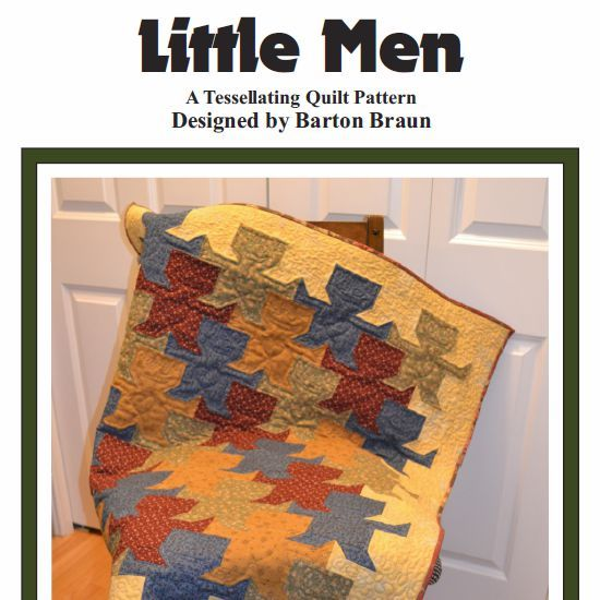 Primary image for Little Men Quilt Pattern