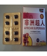 African Superman MALE Performance ENHANCER xxxxxx Wellness Supplements x... - $24.99