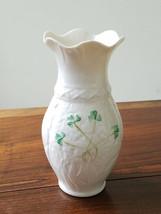 Belleek Porcelain #2303 Fortunes Vase Blarney Woollen Mills 1ST Ed Ireland New - $29.65