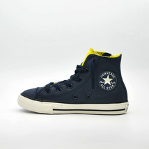 SHOES KID CONVERSE ALL STAR HI SIDE ZIP LEATHER 655164C  Null - $58.12