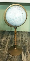 """Replogle Treasury 12"""" Standing Floor Globe with Turned Wood and Metal Stand - $74.80"""