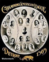 MLB 1909 Detroit Tigers American League Champions Team Picture 8 X 10 Photo Pic - $5.99