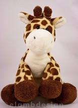 """Ty Pluffies Tiptop Giraffe Yellow Brown 10"""" Plush Baby Stuffed Animal Lo... - $8.95"""