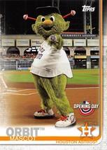 2019 Topps Opening Day Mascot #M6 Orbit > Houston Astros - $0.99