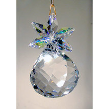 Clear Crystal Pineapple Ornament image 1