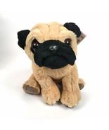 Plush Pug Puppy Toy Stuffed Animal - $13.95
