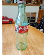 1997 Coca Cola Classic Bottle Christmas 8 Fluid Ounce Green Glass Empty ... - $3.65