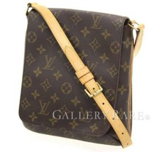 LOUIS VUITTON Musette Salsa Short Monogram M51258 Shoulder Bag Authentic... - $440.22