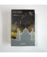 Sealed Deck of China Airlines DELHI India Playing Cards -Travel Horoscop... - $9.50