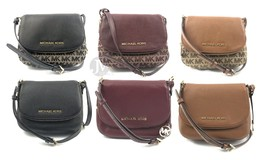 Michael Kors Bedford Signature Small Flap Crossbody Bag Handbag - $93.99+