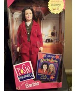 "HERE SHE IS ""ROSIE O'DONNELL"" WITH ACTIVITIES BOOK BARBIE DOLL NRFB - $12.00"