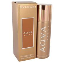 Bvlgari Aqua Amara Cologne By Bvlgari Body Spray 5 FL OZ / 150 ml For Men - $28.59