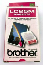 Brother LC25M Magenta Ink Cartridge Genuine Factory Sealed New  - $6.89