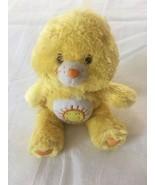 "9"" Funshine Care Bear Bean Bag Plush Silky Fluffy Floppy Stuffed Animal EUC - $14.00"