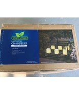WILSON & FISHER LAKEWOOD BATTERY OPERATED OUTDOOR DECK CHANDALIER - $95.00