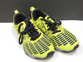 Reebok Crossfit womens Size 6 Athletic Cross Fit Shoe Yellow CF74 Elite Training - $44.54