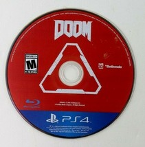 Doom PS4 (Sony PlayStation 4) Game Disc only  - $7.95