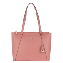 Michael Kors Maddie EW Top Zip Large Tote, Rose $258 - $179.10