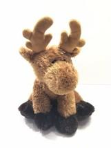 "Aurora World Brown Moose Reindeer 16"" Plush Soft - $13.63"