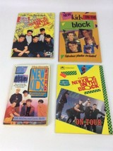 New Kids on The Block Golden Books Puzzle Book Trivia Lot of 4 Vintage 1... - $17.77