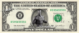 BLACK PANTHER on a REAL Dollar Bill Marvel Cash Money Collectible Memora... - $8.88