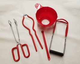 Home Canning Kit 5 Piece Set Red by FOX RUN