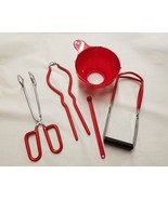 Home Canning Kit 5 Piece Set Red by FOX RUN - $14.30