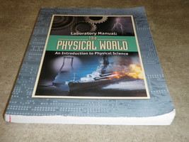 BJU Press Laboratory Manual Physical World Introduction To Physical Scie... - $14.01