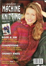 Modern Machine Knitting Jan 1994 Magazine Rosie & Jim characters, Hand P... - $10.68