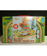 MY FIRST TRAVEL TRAIN CASE SET NEW SEALED AGES ... - $12.50