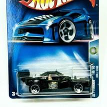2003 Hot Wheels Alt Terrain 10/10 Roll Cage Black Green w Chrome ORUT5sp... - $6.11