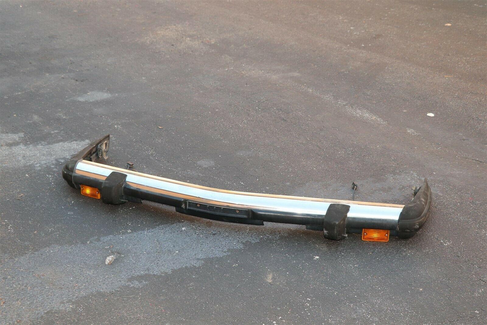 *NO SHIPPING* Mercedes W107 R107 Front Chrome Bumper W/ Shocks 450SL 350SL 560SL