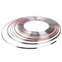 DIY Silver 15M 6mm Car Auto Chrome Moulding Trim Strip For Window Bumper... - $8.08