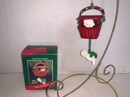 Hallmark Keepsake Ornament Peek-a-boo Kitties Features Movement 1988 - $7.50