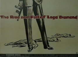 The Rise & Fall of Legs Diamond - Ray Danton - Movie Poster - Framed Picture 11  - $32.50