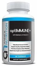optIMMUNE+ - Immunity Booster with Elderberry, Vitamin C & Zinc – Multi-System D