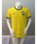 Team Brazil  Jersey -  1970 Replica by Nike - Clodoaldo -Mens Medium - $75.00