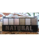 Profusion NATURAL 6 Color Powder Eyeshadow Palette Nude Taupe Applicator... - $6.91