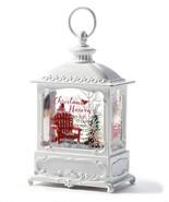 "8.75"" White Water Lantern w Loop Hanger and Memorial Sentiment - $69.29"