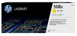 HP 508X High Yield Yellow Original LaserJet Toner Cartridge (CF362X) Yield 9,500 - $333.58