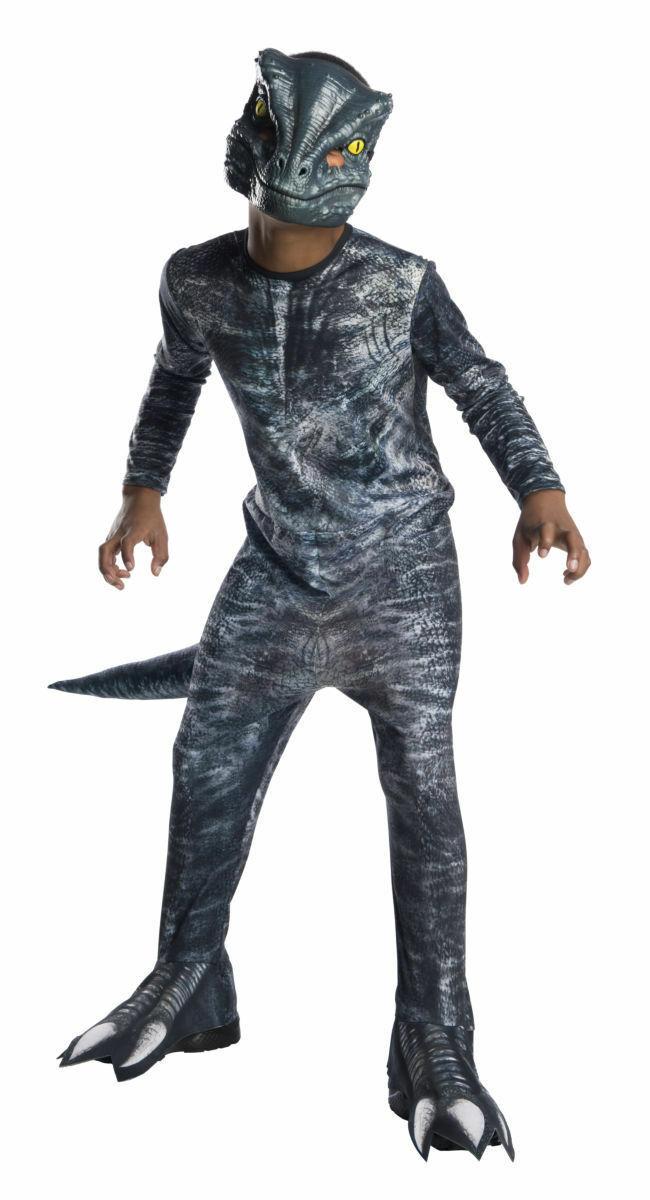 Rubies Jurassic World Fallen Kingdom Velociraptor Niños Disfraz Halloween 641180