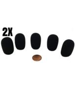 Microphone Windscreen Tetra-Teknica XFFZ5P-BLK Lapel Color Black Lot Of 10 - $13.29