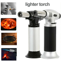 Jet Torch Gun Lighter Welding Adjustable Flame Windproof Butane Refillable Gas - $30.00