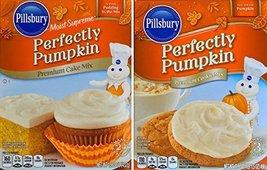 Pillsbury Moist Supreme Perfectly Pumpkin Premium Cake Mix Net Wt 15.25 ... - $11.88
