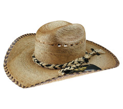 Men's El General Palm Hat Style Chihuahua Sombrero de Palma Natural - €27,20 EUR